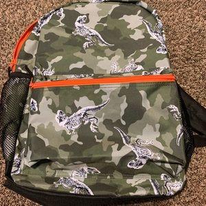 Camo Dinosaur backpack